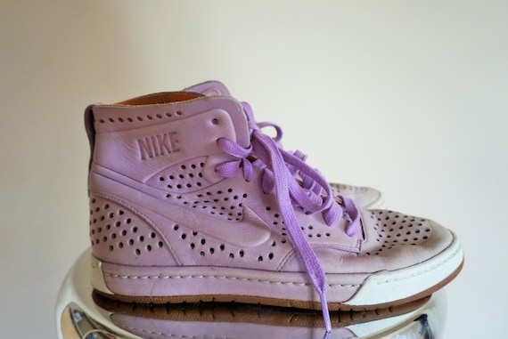 Basketball School 37 Boots Old high Shoes 5 Vintage 6 NIKE Lilac Sport Shoes Purple Sneakers Casual 5 1q0ZPU