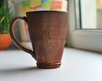 Ceramic coffee cup, coffee mug, ceramic cup, pottery coffee cup