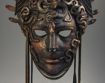Bronze Medusa - Mask