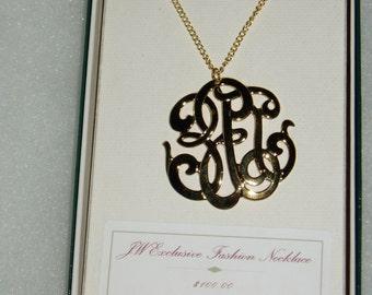 John Wanamaker Vintage Necklace, New Old Stock