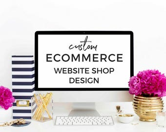 eCommerce Website Shop Design - Custom Store Built on WordPress WooCommerce Platform