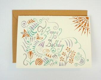 Greeting Card - Birthday Sun