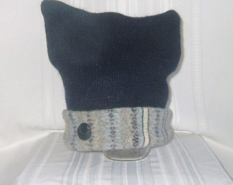 CHILDS Wool Hat made from upcycled wool sweaters