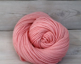 Supernova - Hand Dyed Superwash Merino Wool Worsted Aran Yarn - Colorway: Watermelon