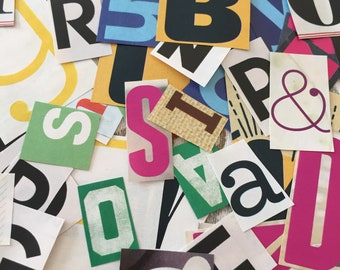 200+ Letters (Magazine Clippings)