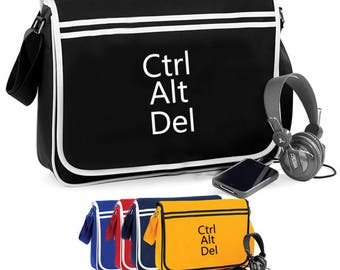 Ctrl Alt Del Computing - Retro Shoulder Bag