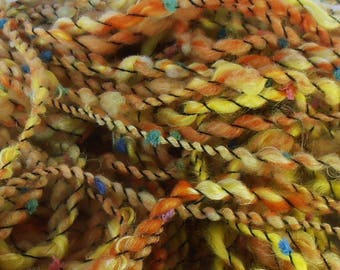 Abeille: handspun art yarn