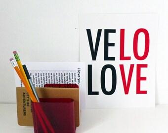Velo Love Print