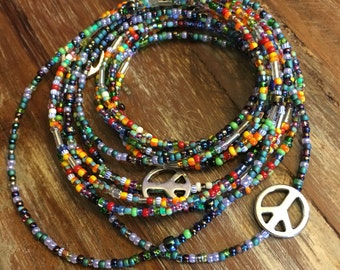 Much Peace + Love Beads