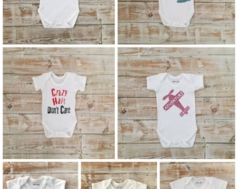 3-6 months Baby Clothes Sale - Ready to Post Bodysuits Clearance - Reduced Price Baby Clothes - Discounted Baby Boy and Baby Girl Gifts