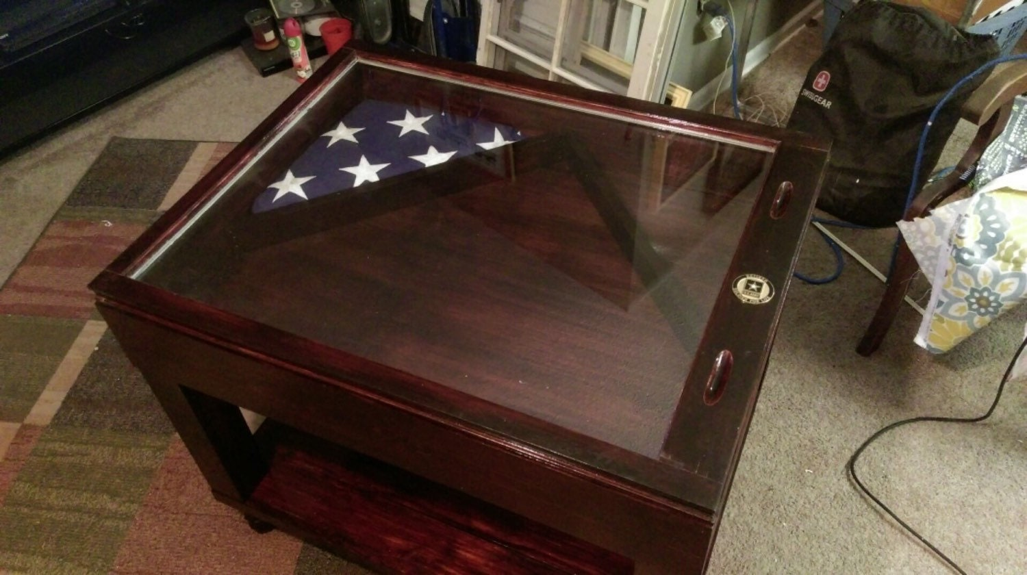 old an a untitled happy building military memorial post wood flag box coffee day s shadow flagshadowbox table on here shadowbox talk let