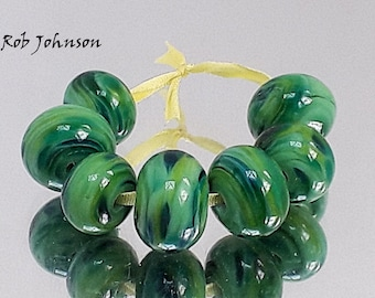 My Forest, Artisan Lampwork Glass Beads, SRA, UK