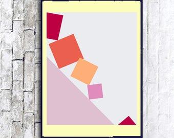 Abstract Art, Abstract Print, Minimalist Art, printable wall art, digital wall print, abstract print, printable art, abstract art Poster