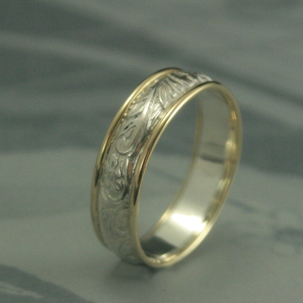 notonthehighstreet com by ring patterned band wedding macleod platinum two product alisonmacleod original in rings alison