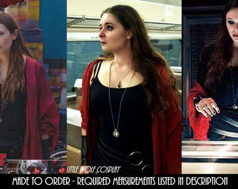Wanda Maximoff/Scarlet Witch Hoop Belt Only Avengers Age of Ultron Cosplay Seoul Outfit