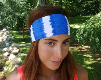 Running - Yoga Headband - Ocean Breeze Print - Nonslip Headband