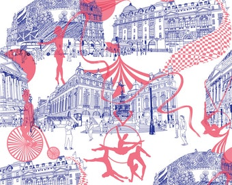 Piccadilly Circus A3 Print