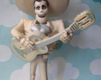 Day of the Dead Ernesto PVC Custom Christmas Ornament - Holiday Gift Ornament