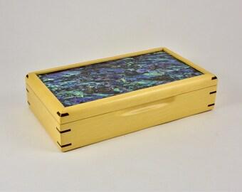 Trinket Box, Storage Box, Keepsake Box, gift for him, gift for her.