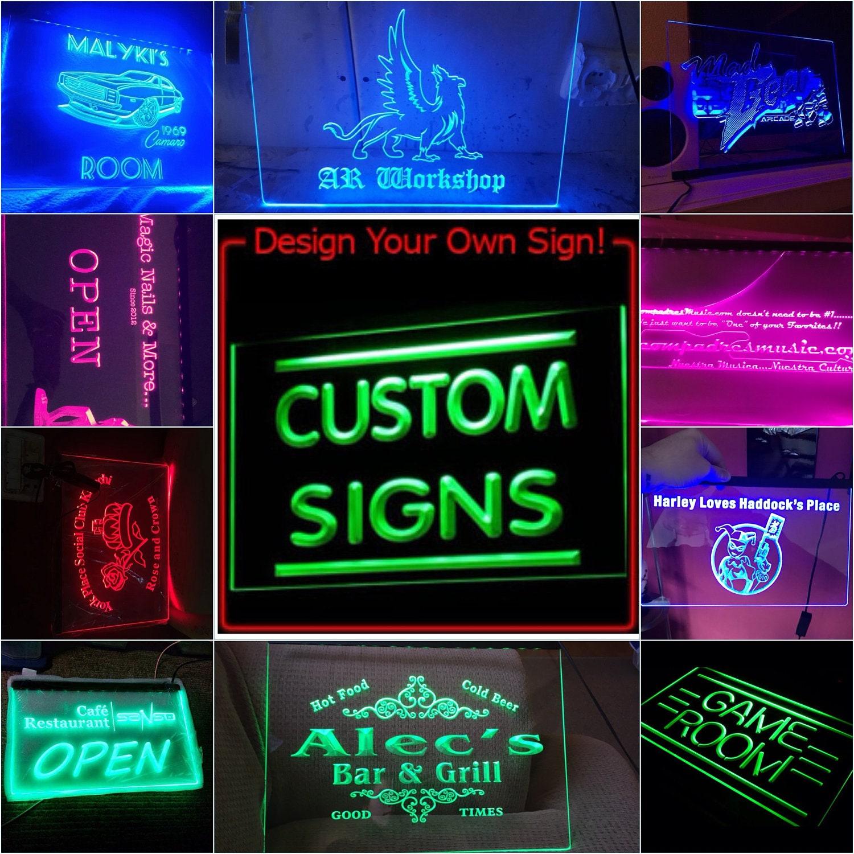 Personalisierte individuelle führte Ihre Neon Zeichen