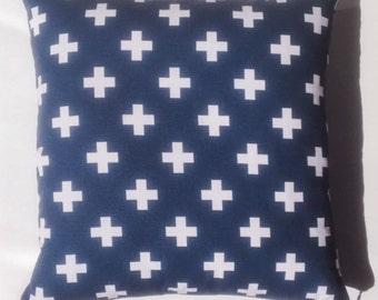 Navy Plus 18x18 Pillow Cover