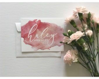 Personalized Notecard Set