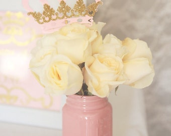 Princess crown centerpiece, Royal crown, Princess Birthday