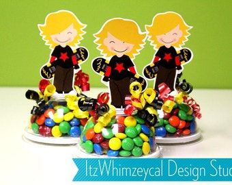 Skater / Skate Boarder Candy Favor Containers