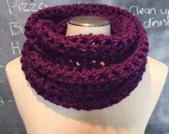 CROCHET PATTERN - The Sabrina Infinity Scarf
