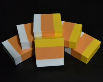 Candy Corn Solid Soap