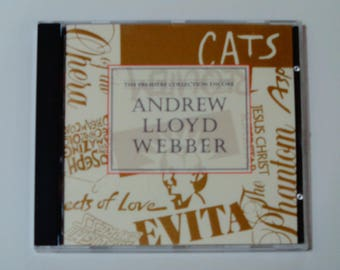 Andrew Lloyd Webber - The Premiere Collection Encore CD - Cats - Phantom of the Opera - Jesus Christ Superstar - Vintage Stage & Screen CD