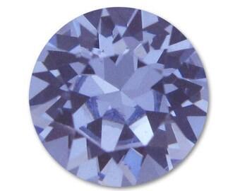 """Swarovski Crystal 8 mm cabochons """"Provence Lavender"""" loose * 2"""