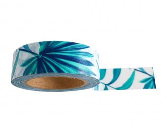 Washi Tape / Paper Tape / Masking Tape / MT Botanical Tropical Leaves