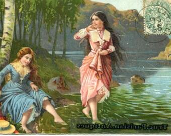 Chromo young girls