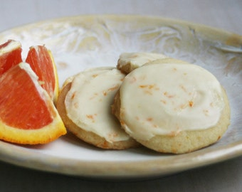 Frosted Orange Wafers (TWO DOZEN)