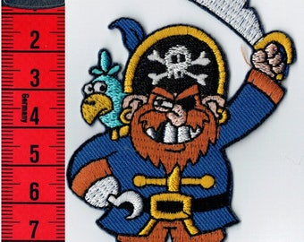 Patch fusible Pirate, or sewing Patch Applique