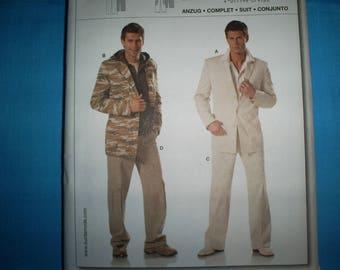 Burda 7918 Size 34-50 Jacket and Pants.