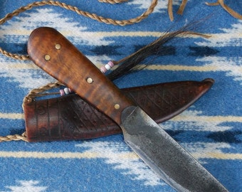 18th Century Reproduction Mountain Man Neck Knife