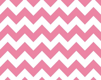 Sale | Pink Chevron Fabric by Riley Blake - 1/2 Yard
