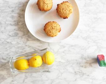 Organic Lemon Glaze Muffins Gluten Free