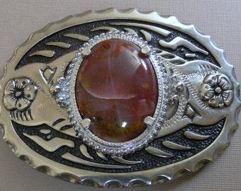 1970s Agate Belt Buckle never worn