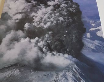 Mount St. Helens Diary, special edition, March-May 1980, newspaper volcano