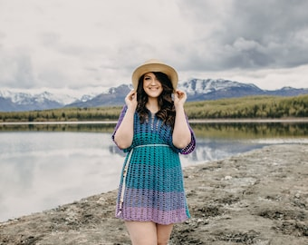 The Carson Beach Cover | Crochet Pattern