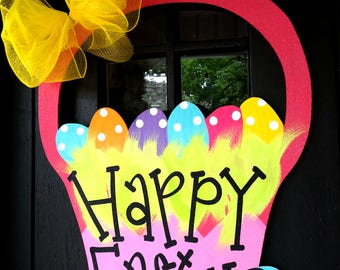 Easter Wreath | Easter Door Hanger | Easter Decorations | Spring Wreath