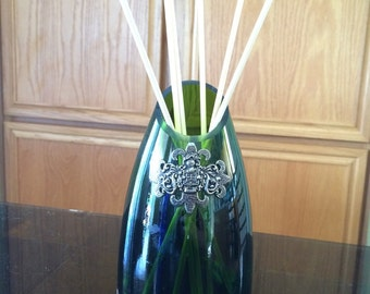 Wine bottle reed diffuser