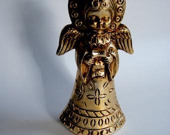 Vintage Golden Angel, Mid Century, Holiday Decor