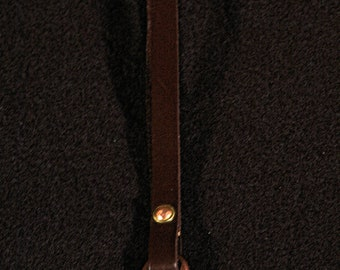 Antiqued Copper Key Chain