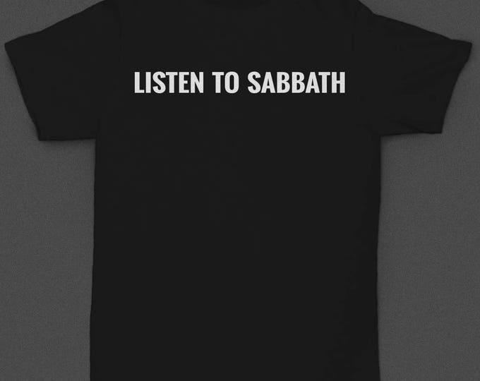 "Motorhead ""Listen to Sabbath"" - Tshirt"