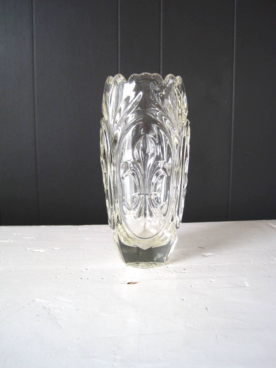 Vintage rudolf schrtter sigurd vase bohemian pressed glass request a custom order and have something made just for you reviewsmspy