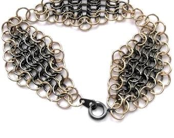 European 4 in 1 chain maille bracelet